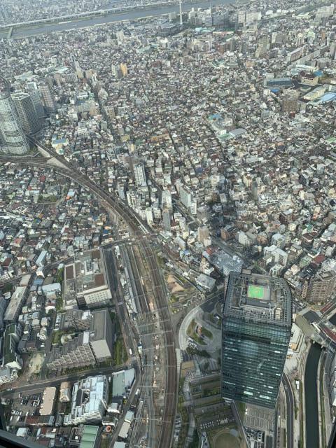 東京スカイツリーから見た景色