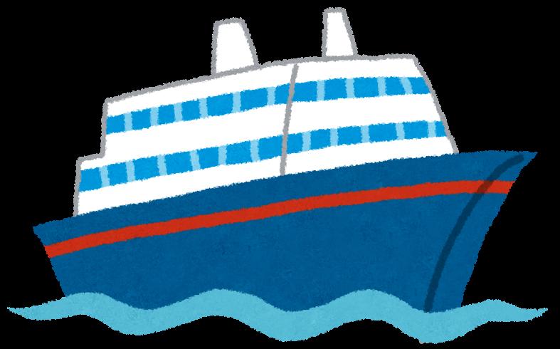 クルーズ船の旅