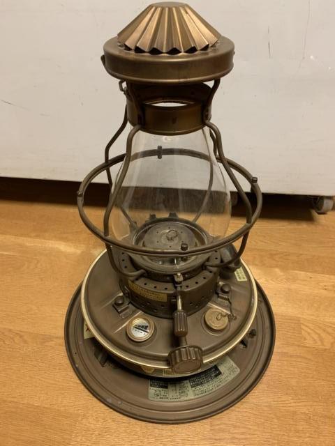 ニッセンのランプ型石油ストーブ