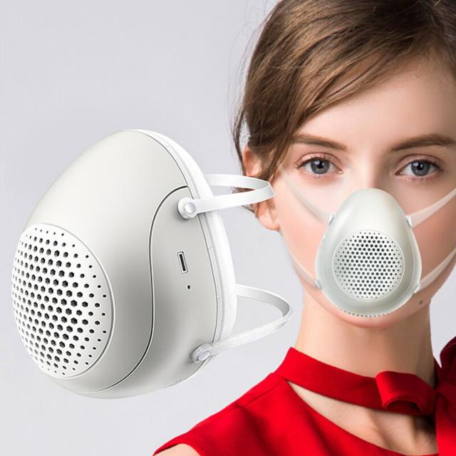 PM2.5を濾過するハイテクマスク
