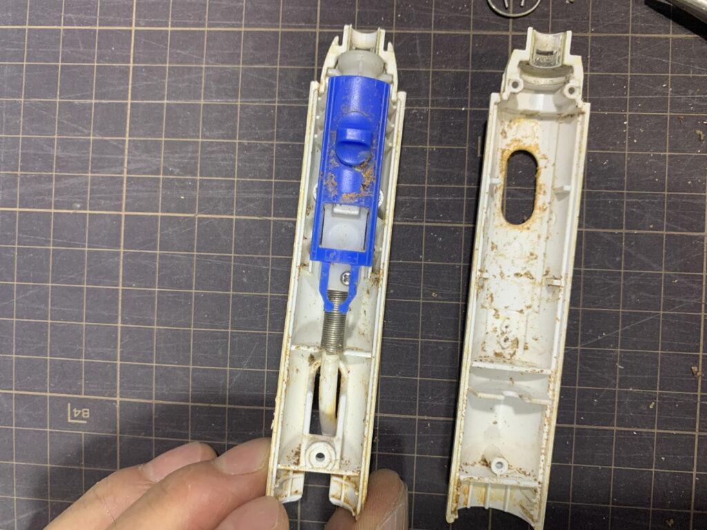 パナソニック ジェットウォッシャー ドルツ EW-DJ61 ホースの破裂を修理