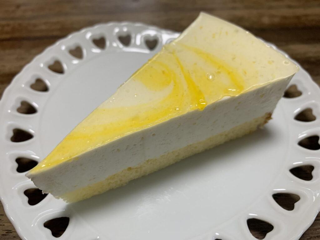 糸島産だいだいのレアチーズケーキ